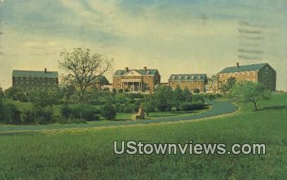 Virginia Baptist Home  - Culpeper Postcard