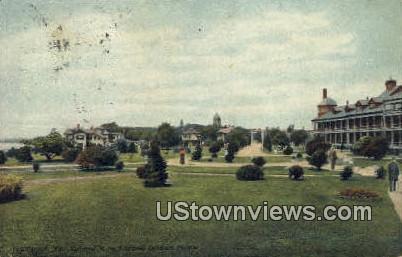 National Soldiers Home  - Hampton, Virginia VA Postcard