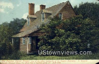 The Famous Parish House  - Newport News, Virginia VA Postcard