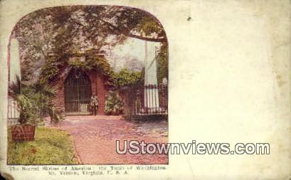 America Tomb Of Washington  - Mount Vernon, Virginia VA Postcard