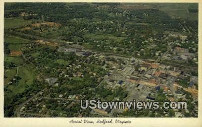 Bedford, Virginia, VA, Postcard