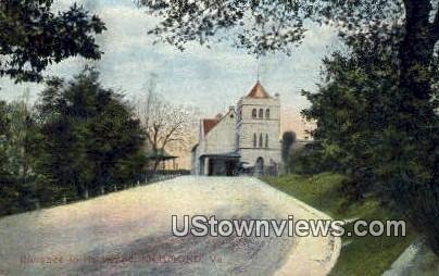 Entrance To Hollywood - Richmond, Virginia VA Postcard