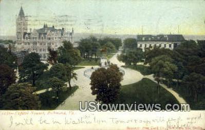 Captiol Square  - Richmond, Virginia VA Postcard