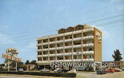 Holiday Towers Motel  - Norfolk, Virginia VA Postcard