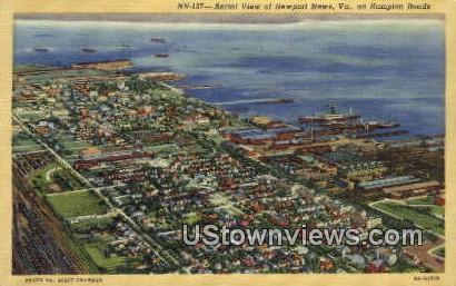 Newport News, Virginia, VA, Postcard