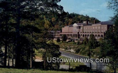 New hotel And Motor Inn  - Natural Bridge, Virginia VA Postcard
