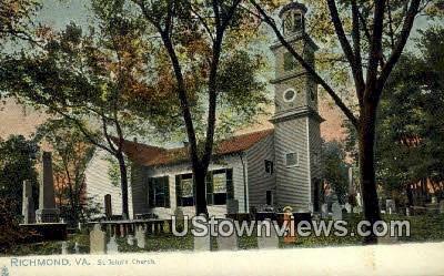 St Johns Church  - Richmond, Virginia VA Postcard