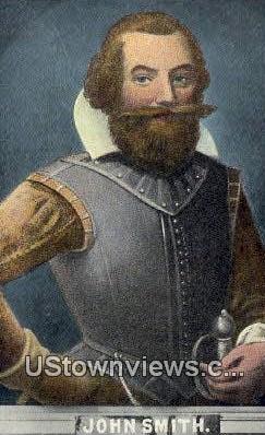 John Smith  - Jamestown, Virginia VA Postcard