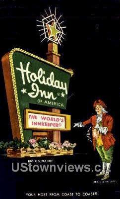 Holiday Inn  - Richmond, Virginia VA Postcard