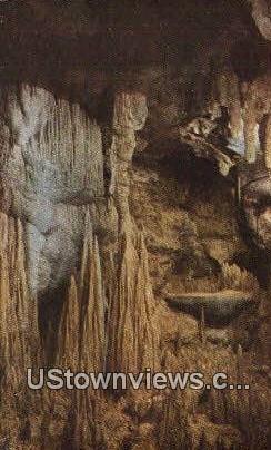 The Beautiful Caverns  - Luray, Virginia VA Postcard