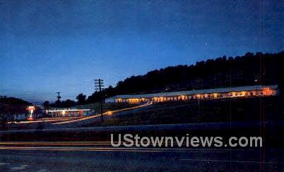 Johnsons Motel And Restaurant  - Wytheville, Virginia VA Postcard