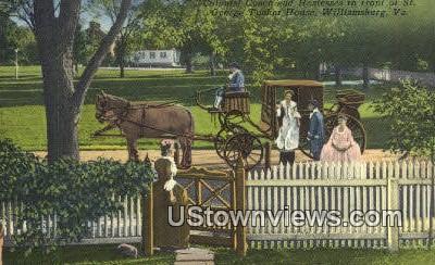 St George Tucker House  - Williamsburg, Virginia VA Postcard