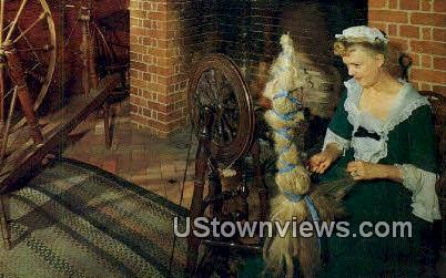 Spinning And Weaving Shop  - Williamsburg, Virginia VA Postcard
