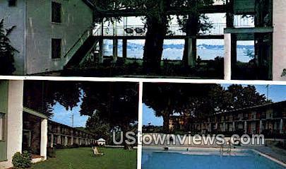 Duke Of York Motor Hotel - Yorktown, Virginia VA Postcard