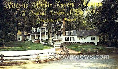 Historic Michie Tavern - Williamsburg, Virginia VA Postcard