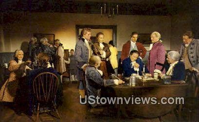 Raleigh Tavern Apollo Room  - Williamsburg, Virginia VA Postcard