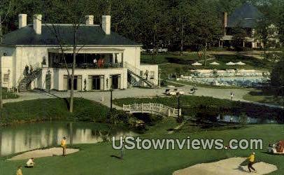 The Golden Horseshoe Clubhouse - Williamsburg, Virginia VA Postcard