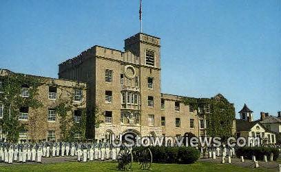 Augusta Military Academy  - Fort Defiance, Virginia VA Postcard