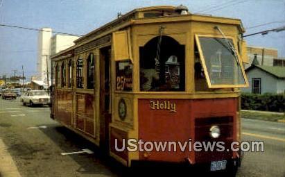 Trolley  - Virginia Beach Postcards, Virginia VA Postcard