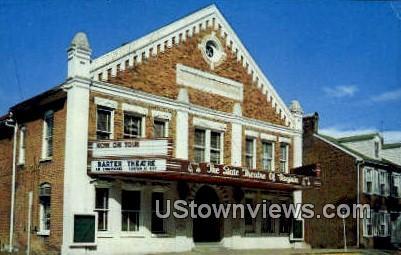 The Barter Theatre  - Abingdon, Virginia VA Postcard