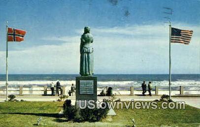 The Norwegian Lady  - Virginia Beach Postcards, Virginia VA Postcard