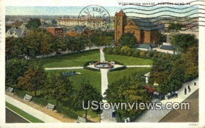 Washingtons Square  - Newport News, Virginia VA Postcard