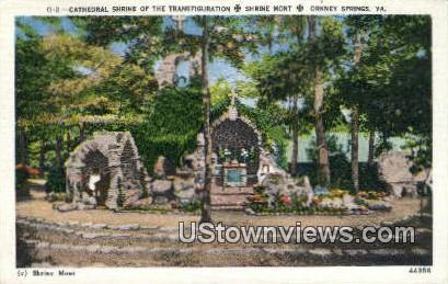 Shrine Mont  - Orkney Springs, Virginia VA Postcard