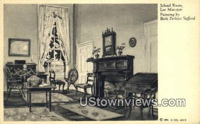 School Room Lee Mansion  - Arlington, Virginia VA Postcard