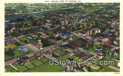 Marion , Virginia, VA, Postcard