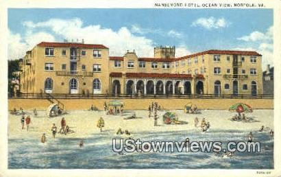 Nansemond Hotel  - Norfolk, Virginia VA Postcard