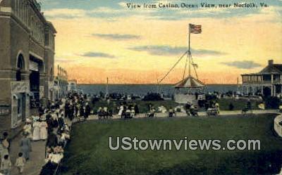 Casino  - Norfolk, Virginia VA Postcard