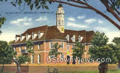 The Capitol  - Williamsburg, Virginia VA Postcard