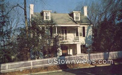 The Marr House  - Warrenton, Virginia VA Postcard