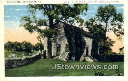Old Chapel  - Boyce, Virginia VA Postcard