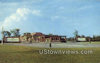 West Gate  - Langley Field, Virginia VA Postcard