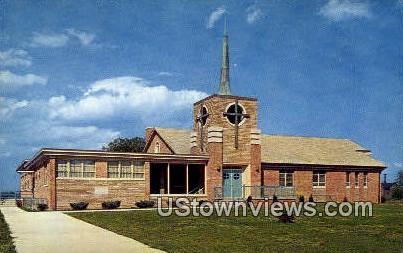 Church Of The Brethren  - Christiansburg, Virginia VA Postcard