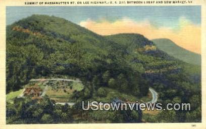 Summit Of Massanutten Mountain  - New Market, Virginia VA Postcard