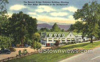 Natural Bridge Entrance Building  - Virginia VA Postcard