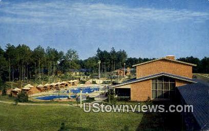 Recreation Area of Motor House  - Williamsburg, Virginia VA Postcard