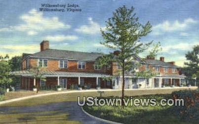 Williamsburg Lodge  - Virginia VA Postcard