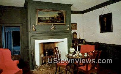Parlor Brush Everard House  - Williamsburg, Virginia VA Postcard