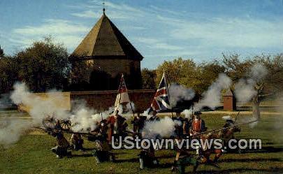 The Colonial Militia  - Williamsburg, Virginia VA Postcard