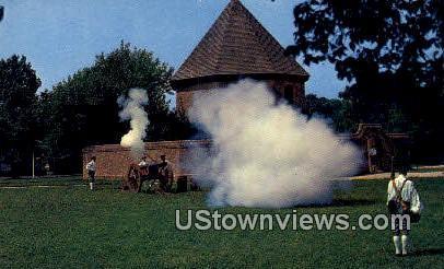 Magazine And Guardhouse  - Williamsburg, Virginia VA Postcard