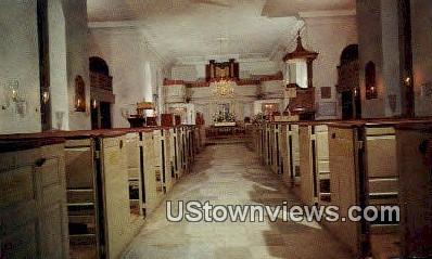 Burton Parish Church  - Williamsburg, Virginia VA Postcard