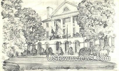 The Williamsburg Inn - Virginia VA Postcard