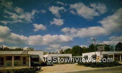 Tioga Court  - Williamsburg, Virginia VA Postcard