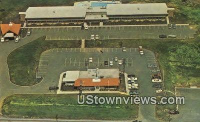 Howard Johnsons Motor Lodge  - Roanoke, Virginia VA Postcard