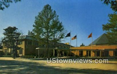 Lodge  - Williamsburg, Virginia VA Postcard
