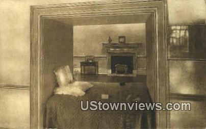 The Original Alcove Bed At Monticello  - Charlottesville, Virginia VA Postcard