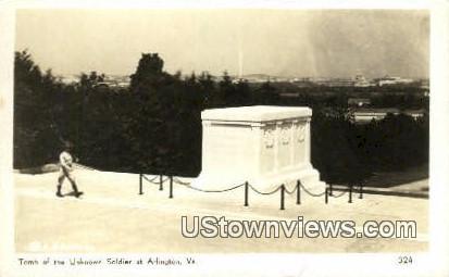 Tomb Of The Unknown Soldiers - Arlington, Virginia VA Postcard